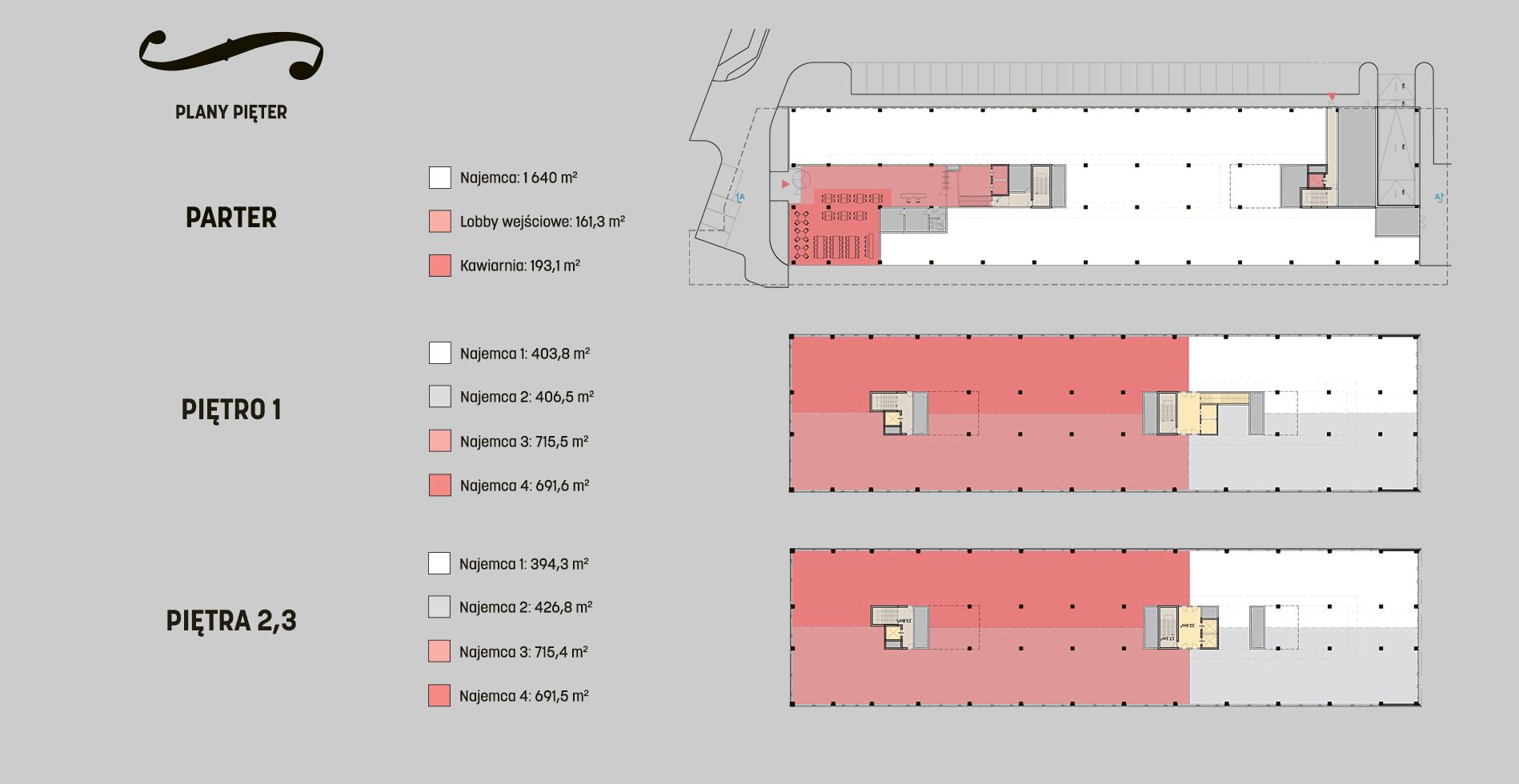 Bolero Office Point III - Plany Pięter