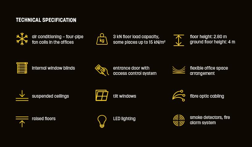 Bolero Office Park - Technical Specifications